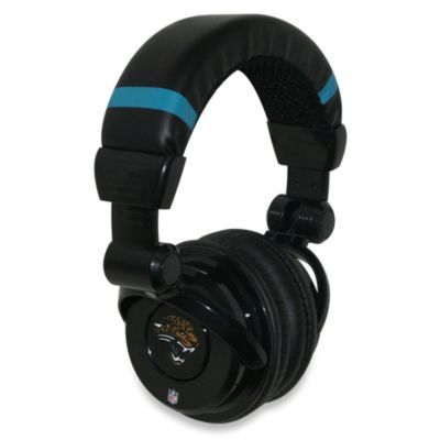 NFL Jacksonville Jaguars iHip® DJ-Style Headphones with Inline Microphone