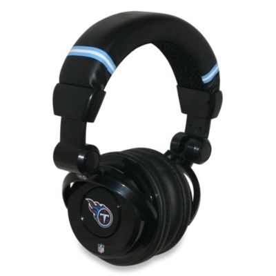 NFL Tennessee Titans iHip® DJ-Style Headphones with Inline Microphone
