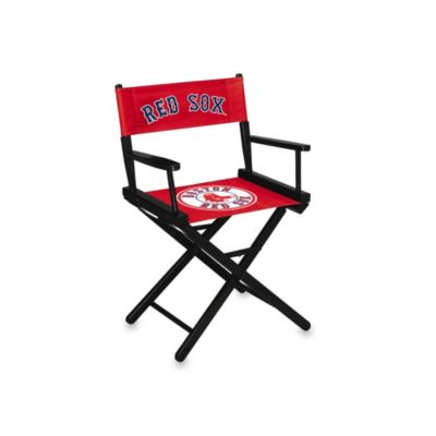 MLB Boston Red Sox Table Height Directors Chair