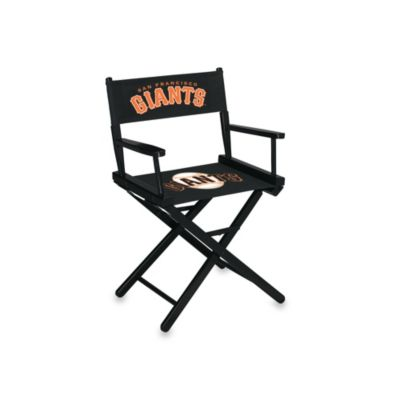 MLB San Francisco Giants Table Height Directors Chair