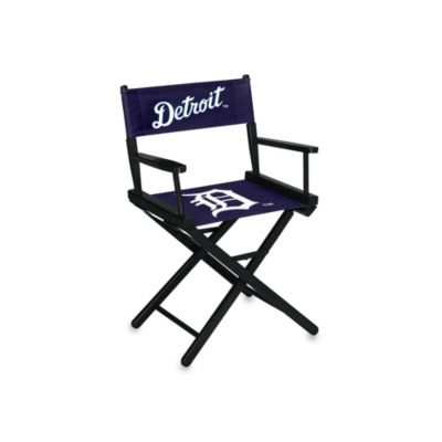 MLB Detroit Tigers Table Height Directors Chair