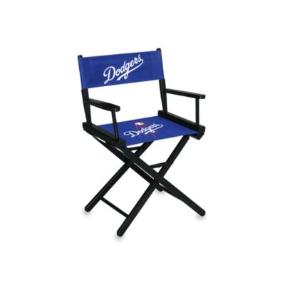MLB Los Angeles Dodgers Table Height Directors Chair