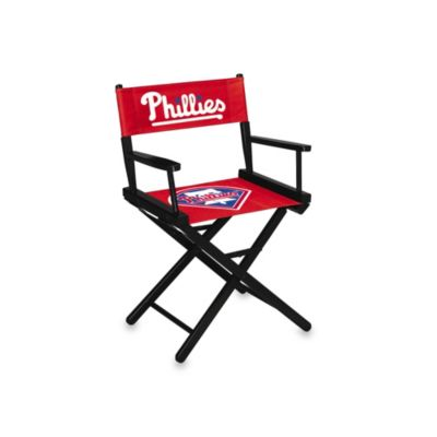 MLB Philadelphia Phillies Table Height Directors Chair