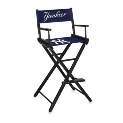 MLB New York Yankees Bar Height Directors Chair