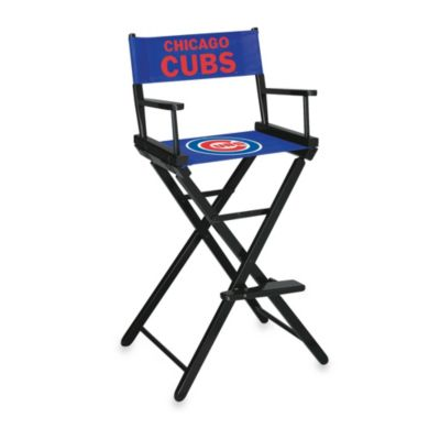 MLB Chicago Cubs Bar Height Directors Chair