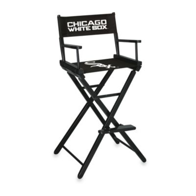 MLB Chicago White Sox Bar Height Directors Chair