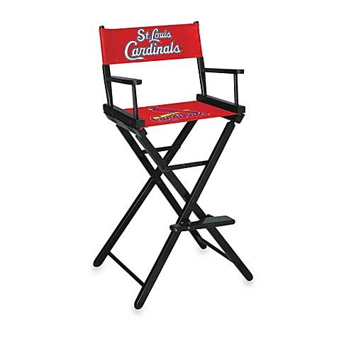 Buy MLB St Louis Cardinals Bar Height Directors Chair