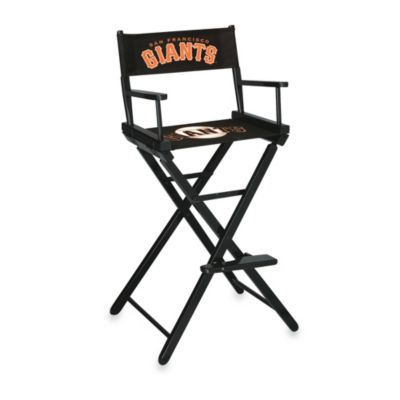 MLB San Francisco Giants Bar Height Directors Chair