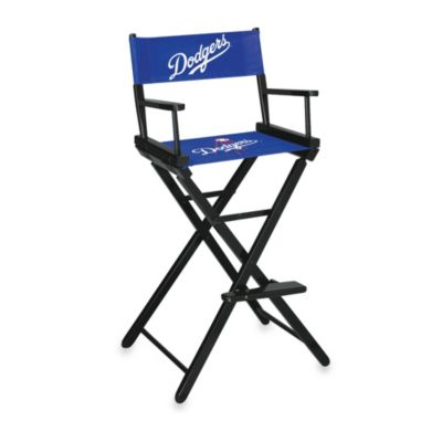 MLB Los Angeles Dodgers Bar Height Directors Chair