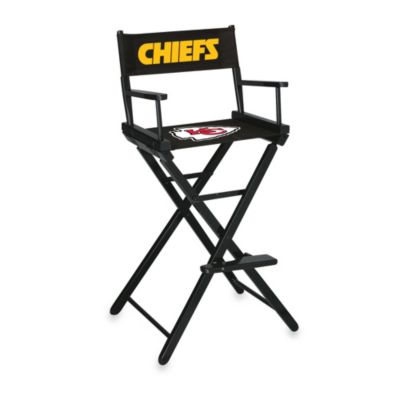 NFL Kansas City Chiefs Bar Height Director Chair
