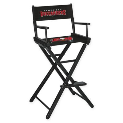 NFL Tampa Bay Buccaneers Bar Height Director Chair