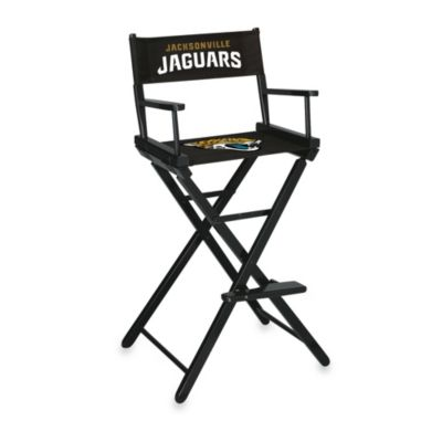 NFL Jacksonville Jaguars Bar Height Director Chair