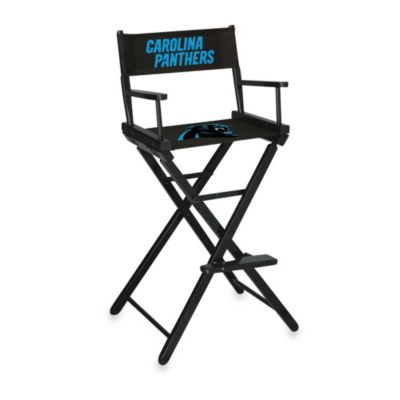NFL Carolina Panthers Bar Height Director Chair