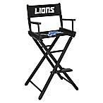 NFL Detroit Lions Bar Height Director Chair