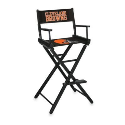 NFL Cleveland Browns Bar Height Director Chair