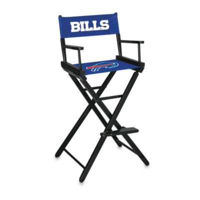 NFL Buffalo Bills Bar Height Director Chair