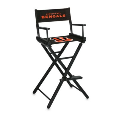 NFL Cincinatti Bengals Bar Height Director Chair