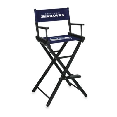 NFL Seattle Seahawks Bar Height Director Chair