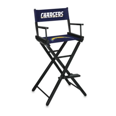 NFL San Diego Chargers Bar Height Director Chair