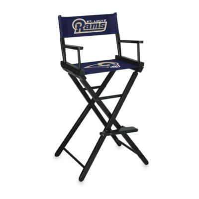 NFL St. Louis Rams Bar Height Director Chair