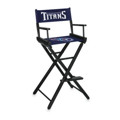 NFL Tennessee Titans Bar Height Director Chair