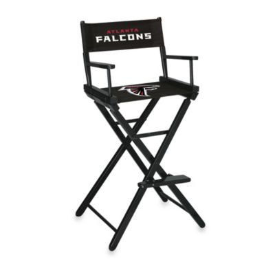 NFL Atlanta Falcons Bar Height Director Chair