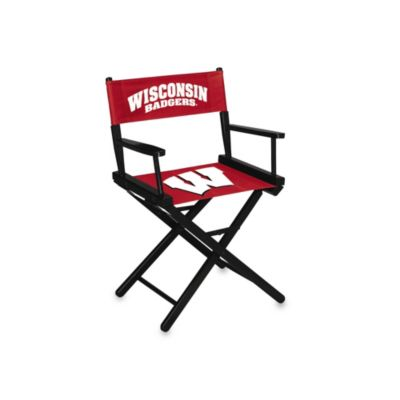 NCAA University of Wisconsin Table Height Director's Chair