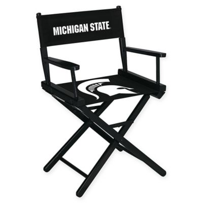 NCAA Michigan State University Table Height Director's Chair