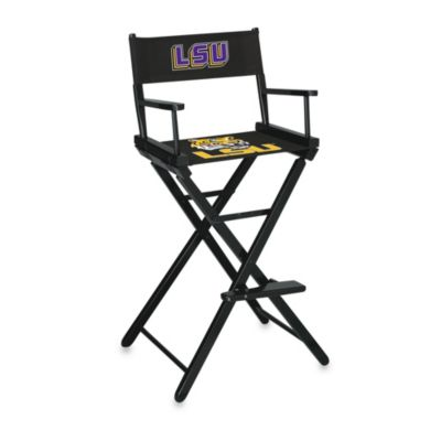 Louisiana State University Bar Height Director's Chair