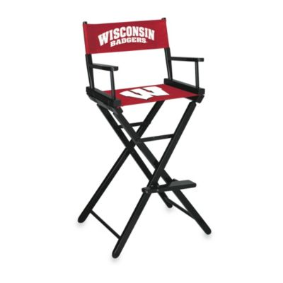 University of Wisconsin Bar Height Director's Chair