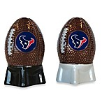 NFL Texans Salt and Pepper Shakers