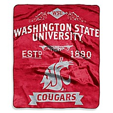 Washington State University Raschel Throw