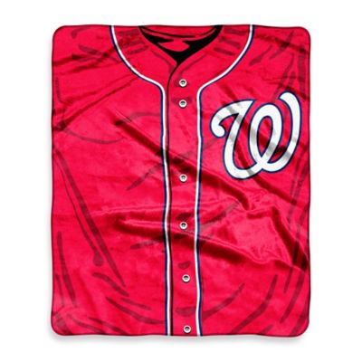 Washington Nationals Raschel Throw