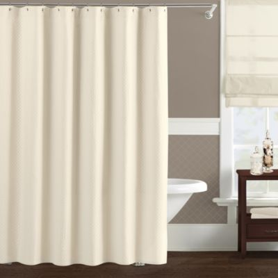 Lamont Home™ Diamante 72-Inch x 72-Inch Shower Curtain in Ivory