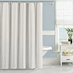 Lamont Home Nepal 72-Inch x 72-Inch Shower Curtain in White