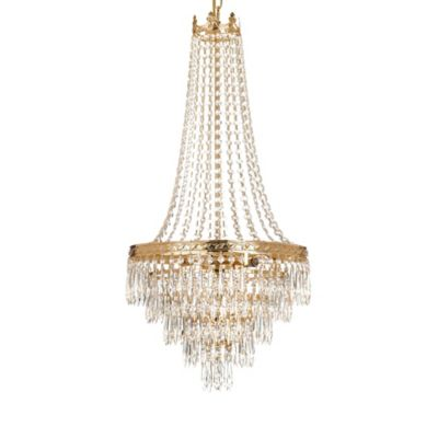 Gold Crystal Chandeliers