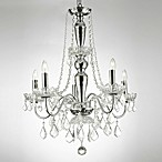 Gallery Royal Collection 5-Light Chandelier with Crystals