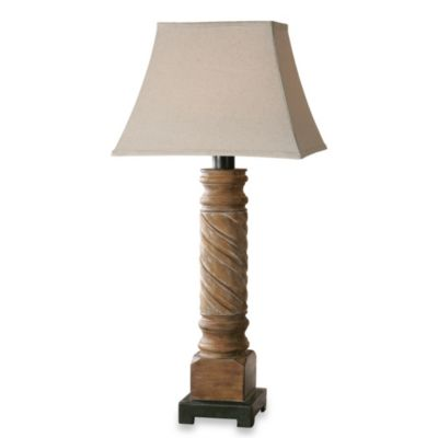 Uttermost Villaurbana Light Wood Lamp