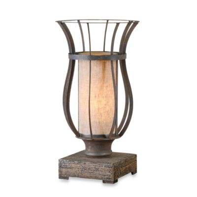 Uttermost Minozzo Accent Lamp in Bronze
