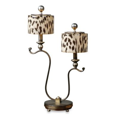 Uttermost Malawi Cheetah Print Accent Lamp