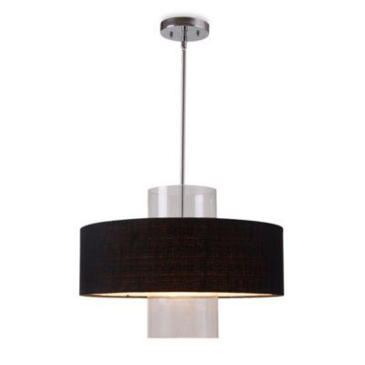Kenroy Home Annie 1-Light Pendant in Black