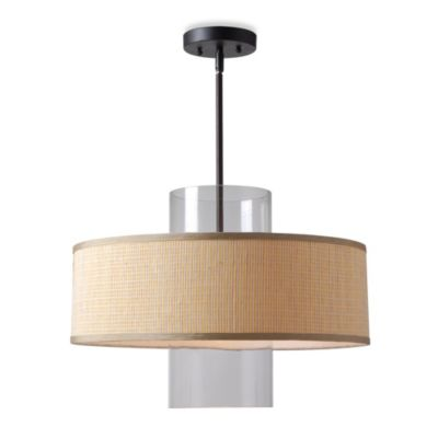 Kenroy Home Annie 1-Light Pendant in Bamboo