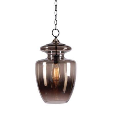 Kenroy Home Apothecary 1-Light Pendant