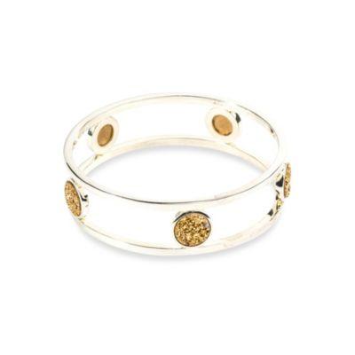 Gold Drusy Bracelet