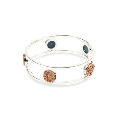 ChristineDarren 5-Stone Rose Drusy Bracelet