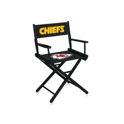 NFL Kansas City Chiefs Table Height Director Chair