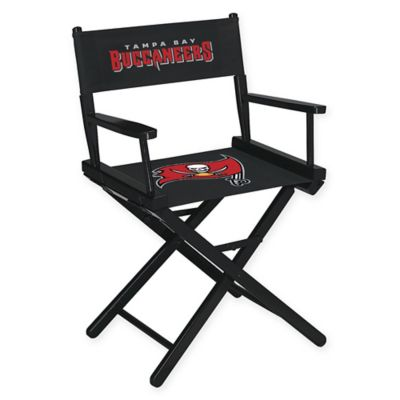 NFL Tampa Bay Buccaneers Table Height Director Chair