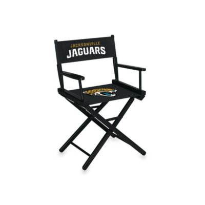 NFL Jacksonville Jaguars Table Height Director Chair