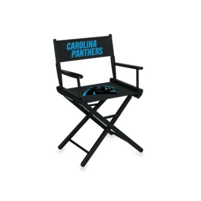 Carolina Panthers NFL Table Height Director Chair