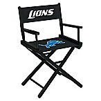 Detroit Lions NFL Table Height Director Chair